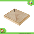 8PCS wooden puzzle toy Brain Teaser for kids