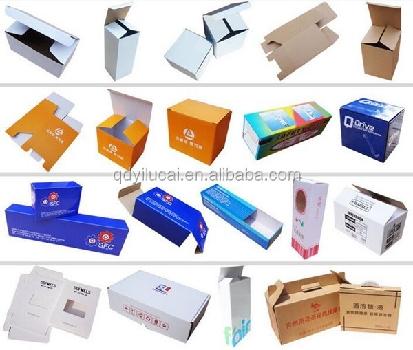 Colorful Corrugated Box For Electronics