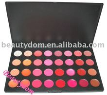 Hot! 32 color sexy Red Lipgloss Palette Makeup, 32 Lip Gloss palette makeup
