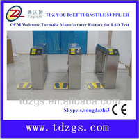Electrical mechanism ESD tripod turnstile,electronic turnstile gate for door access system