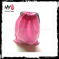 New fashional shoe gift bag, cheap shoe bags, drawstring nonwoven shopping bag
