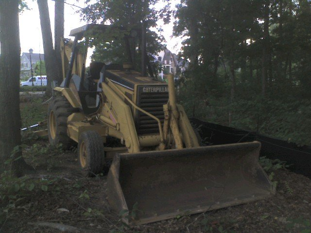 1995 CAT 416 B Backhoe