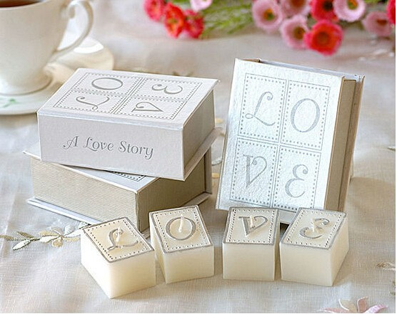 Wholesale Creative Unique Love Story Birthday Candles Gift Wedding Candle