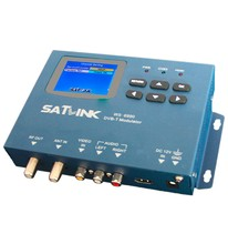 High quality Satlink Meter WS-6990 1 Route DVB-T modulator Terrestrial Finder Meter 2.4-inch color LCD display