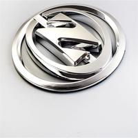 Professional Fast Delivery Hood Decoration Use Custom Made 3M Adhesive Type 3D Logo Chrome Plastic Badge Emblem For Car