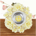 Continental led downlight ceiling living room with three-color LED Downlight Alice