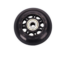The PU wheel ,pulley with bearing / Trolley wheels 76mmx24mm