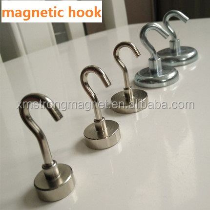 Hot Selling Permanent NdFeB Hook, Magnetic Pot Strong Holding Force