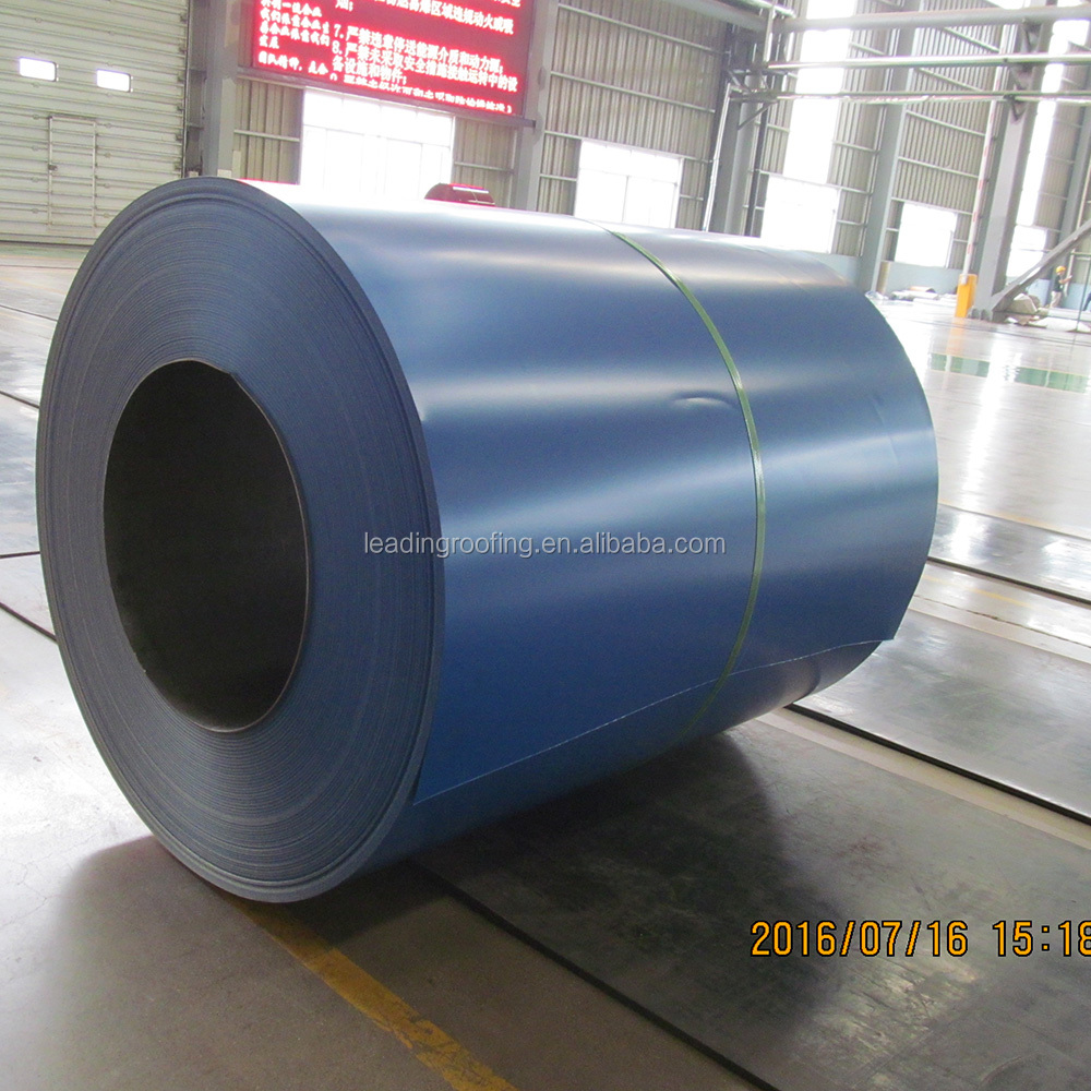 G550 For Roofing Sheets Pepsi Blue Color coated galvanized steel coil PPGI