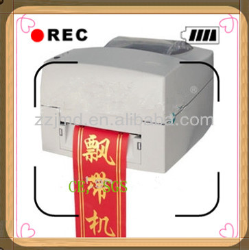 Ribbon printing machine for flower shop using ADL-S108A