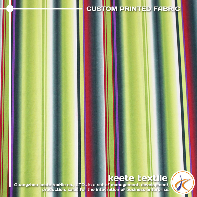 Striped textile fabric design sense for garment OEM service