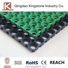 Anti Slip Perforated Safety Rubber Grass Mat