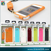 lanyard leather case for iphone 5, for iphone 5 case with lanyard