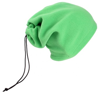 3 in 1 Mult-iFunction Hot Sale polar fleece kids Neck warmer with cord fastener