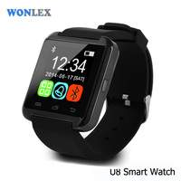 Branded Watch Wonlex CE/Rohs LED Smart Watch Bluetooth Mobile Watch Phones For Android/IOS Smart Phone