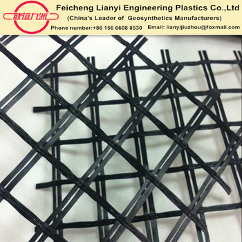 Polyester geogrid 40/40kn 50/50kn 80/80KN PET geogrid