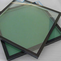 2015 Glass Manufacturer Good Price With CCC & CE Certificate Hollow Glass For Curtain Wall Insulating Glasses