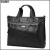 Classical design mens briefcase for genuine leather laptop bag for men business bag
