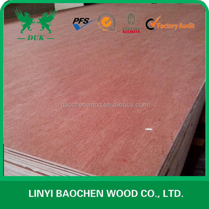 natural wood veneer bintangor commercial plywood/Furniture Plywood/ film faced plywood sheet