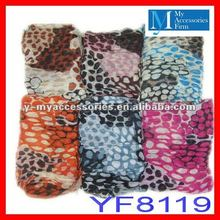 2012 newest fashion leopard scarf wholesale