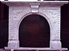 Stone Carved White Marble Fireplace Mantle
