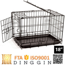Large steel iron dog cage for sale cheap