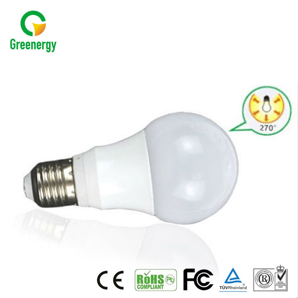 RoHS available color changing led light bulb