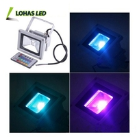Led flood light high lumen 100w 150w 200w 300w 400w 1000w 2000w die cast aluminum led flood light housing rgb led flood light
