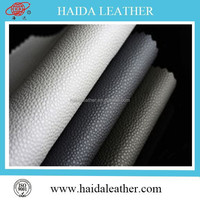 Good quality Fancy wholesale stamping Synthetic fabric pvc leather from Jiangsu for Colombia