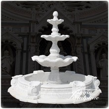 Professional garden fountains waterfall