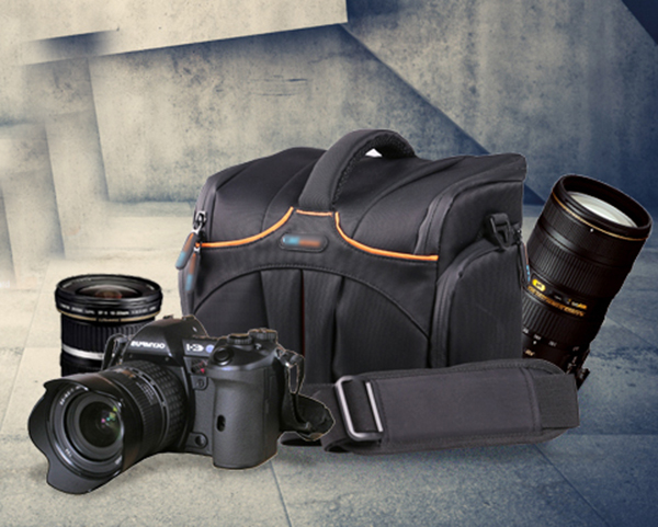 Waterproof SLR camera bag 600D 760d 1200D 60d 70D single shoulder oblique cross photography package