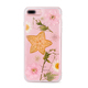 Custom printing fruit and Flower cellphone casel TPU transparent mobile phone shell