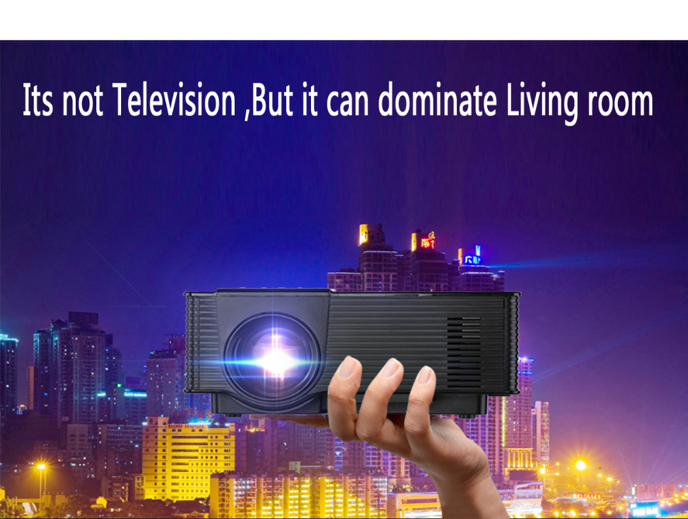 Wholesale mini led projector intelligent LED projectors connect TV mobile phone