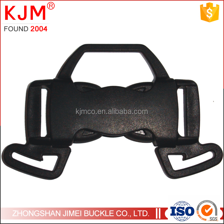 5 way dual ajustable side quick release stroller plastic buckle