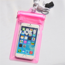 Waterproof Mobile Phone case cover Touch Screen for Iphone 5/5s SE/6 for Samsung s3/s4/s5