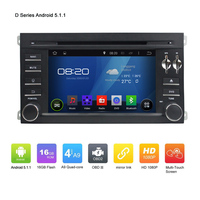 "7"" OEM Pure 2DIN ANDROID 5.1.1 CAR DVD GPS for PORSCHE Cayenne Quad Core 1024*600 Touch Screen Car GPS Navgation radio audio"