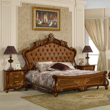 2017 Hot Furniture European Queen size Bed Luxury Bed