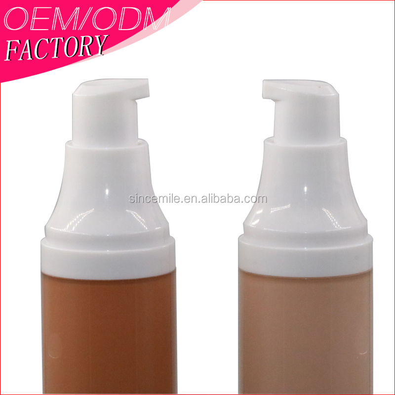 longlasting waterproof cover <strong>face</strong> flaw whitening bottle form liquid foundation concealer makeup custom brand