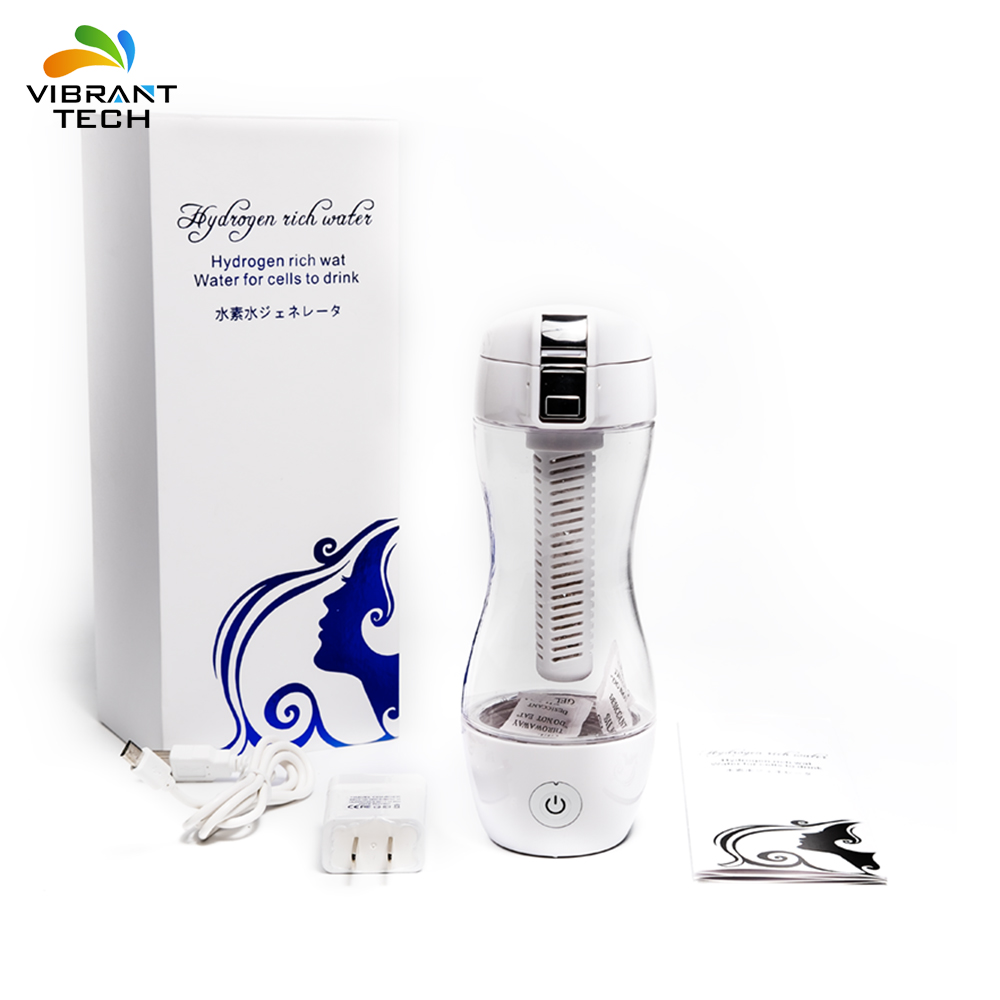Portable Intelligent hydrogen rich water Ionizer Maker for cells to drink