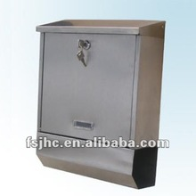 JHC-2025S Apartment Stainless Steel Wall Mounted Mailboxes With Newspaper-Holder/Free Standing Letter Boxes