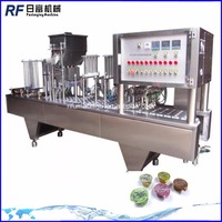 automatic bubble tea cup sealing machine with youtube video