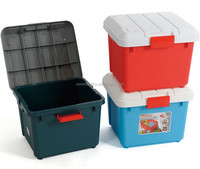 plastic storage box for trunk