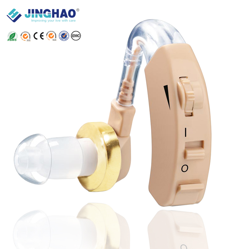 Free Shipping High Quality Personal Homecare Device Cheap BTE Sound Amplifier Hearing Aid