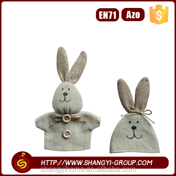 New fashion soft rabbit felt protective cosy for easter egg surprise