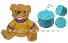 ABS plactic custom talking dolls with recording voice box for plush toy