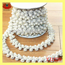 decorative pearl lace trim