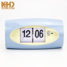 KH-0348 2018 Kingheight Modern Retro Auto Flip Clock Desk Table File Down Page Clock