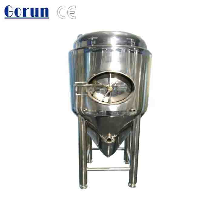 Home-brew conical fermenter tank/ Stainless steel beer fermenter /brewery fermenting equipment
