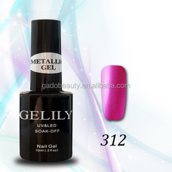 10ML New Nail metallic UV Gel Polish over 30 Colors