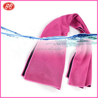 Strong absorbent hotel use endurance cool instant cooling towel